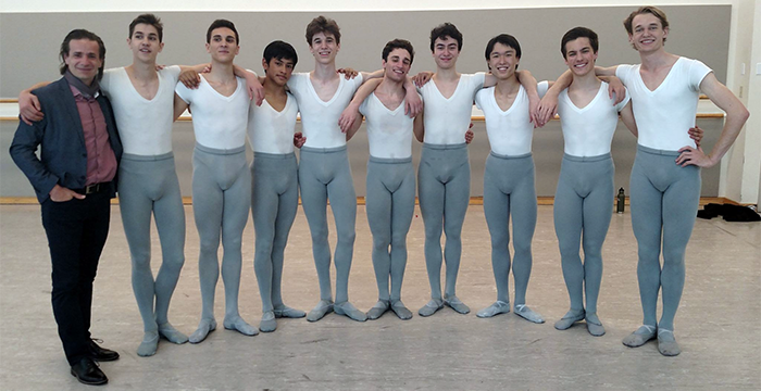 Julián Mendosa - San Francisco Ballet School